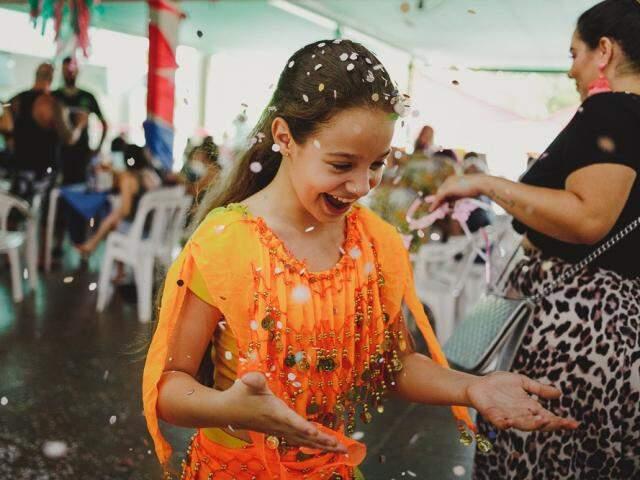 Carnaval é época de diversão em família e não faltam opções para divertir os pequenos. (Foto: André Patroni)