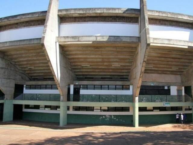 Ginásio Guanandizão receberia etapa de competição internacional de vôlei.