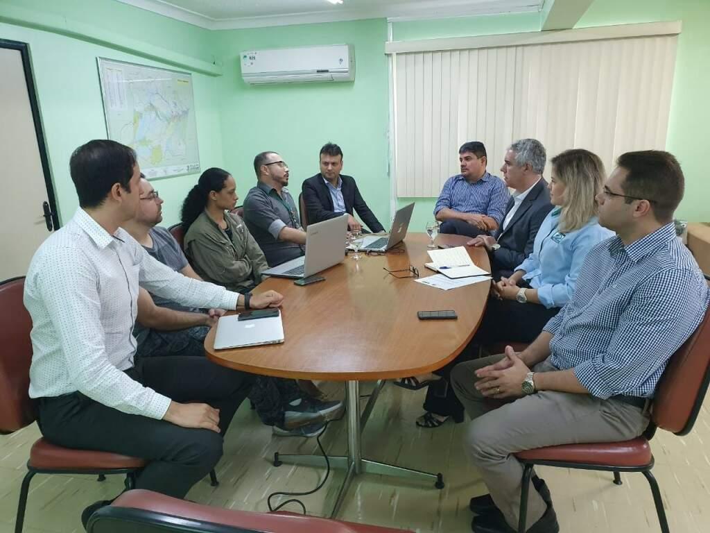 Em dezembro, técnicos do Imasul foram a Manaus para visita no instituto ambiental (Foto/Divulgação)