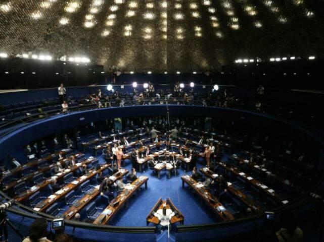 Plenário do Senado. (Foto: Fabio Rodrigues Pozzebom/AgênciaBrasil)