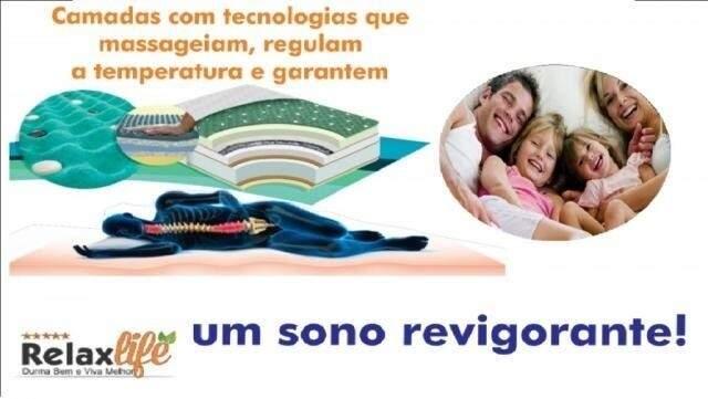 Loucura prorrogada: mais 48h com colchão massagem a R$ 999 em 12X