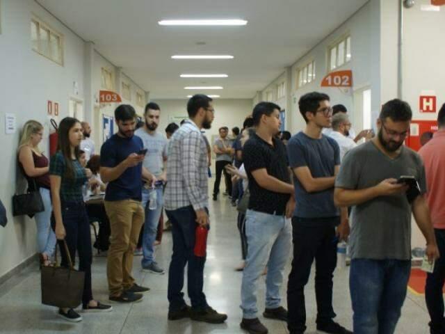 Candidatos precisam fazer curso para concorrer a vaga (Foto: Divulgação/PMCG)