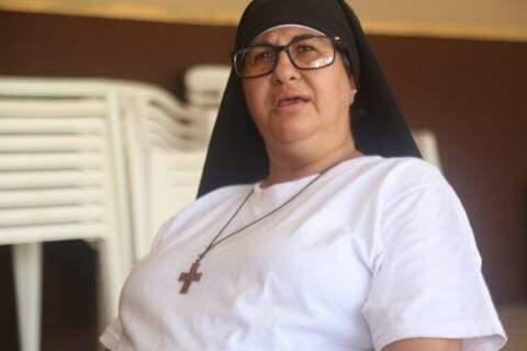 Irmã Delanor está com padre Agenor desde 2013 (Foto: Marcos Maluf)