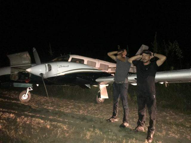 Os dois brasileiros presos na Venezuela. por envolvimento com o narcotráfico de cocaína. (Foto: Divulgação)