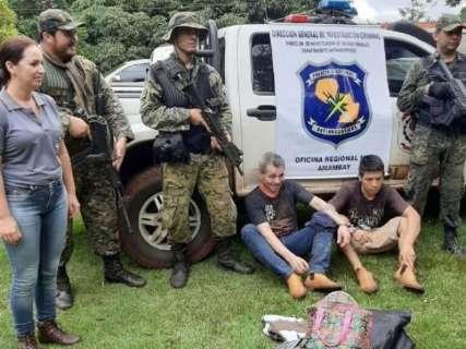 Polícia mantém buscas na fronteira, mas 65 presos continuam foragidos