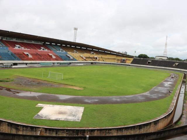 Estádio Morenão em Campo Grande vai receber dois jogos neste final de semana. (Foto: Marcos Maluf)
