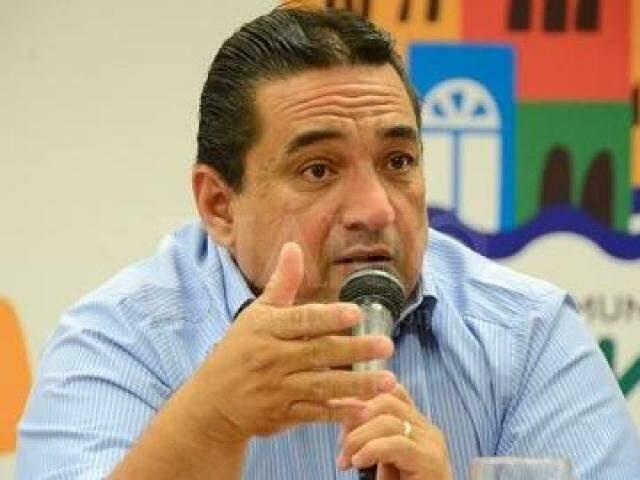 Marcelo Iunes assumiu prefeitura em novembro de 2017.  (Foto: Anderson Gallo/Diário Corumbaense)