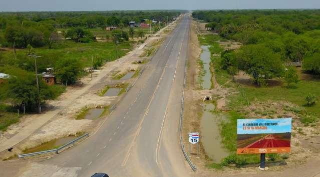 Esperança do turismo regional, rodovia paraguaia já está 23% concluída