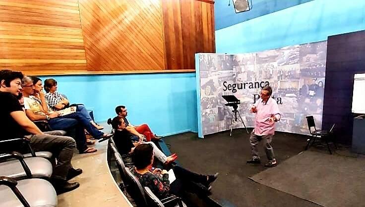 O anúncio foi feito nessa quarta-feira, em reunião da TVE Cultura com representantes do colegiado de produção audiovisual de Mato Grosso do Sul. (Foto: Divulgação)