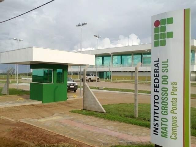 IFMS em Campo Grande. (Foto: Divulgação)