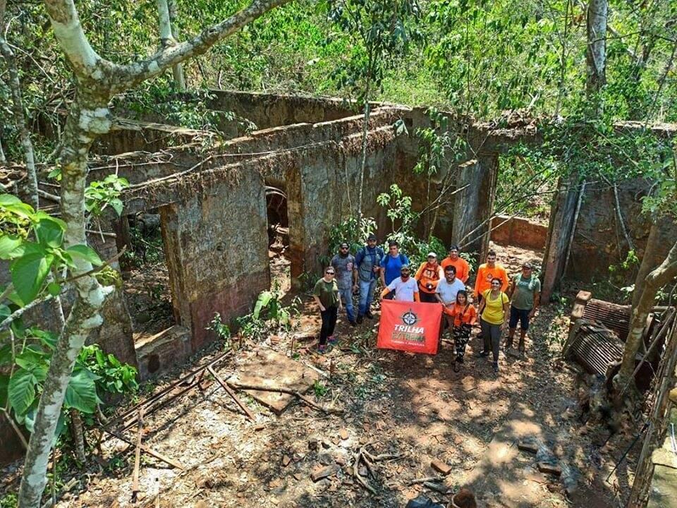Usina abandonada do Córrego Ceroula. (Foto: Trilha Extrema)