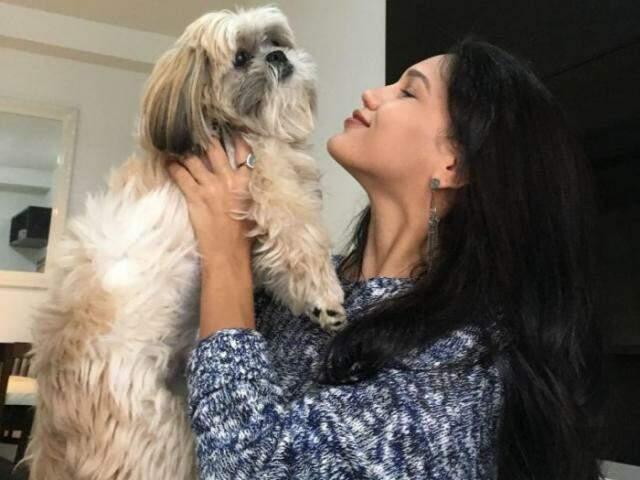 Esse é o Dylan, cachorrinho de Marlucia que segue desaparecido. (Foto: Arquivo Pessoal)