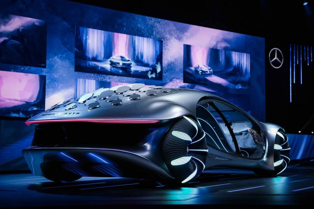Mercedes-Benz apresenta carro-conceito inspirado no filme AVATAR