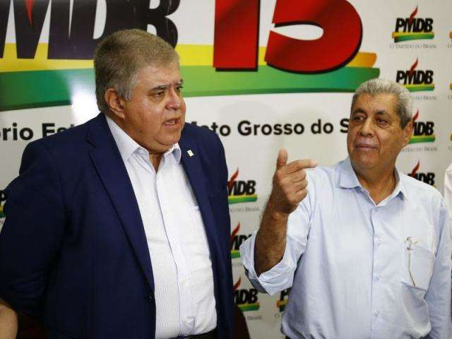 Marun e Puccinelli: dupla volta à ativa em Brasília