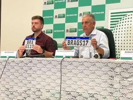 Detran suspende emplacamento para implantar Placa Mercosul em fevereiro