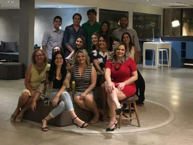 Parte da equipe de profissionais do MedGuias MS (Foto: Divulgação)