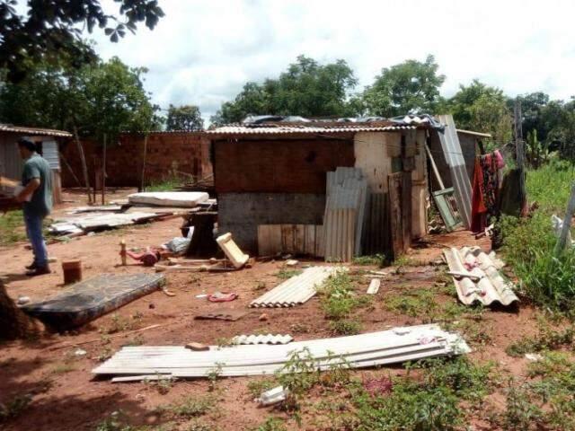 Essa é a casa escolhida. Projeto planeja dois quartos, sala com cozinha integrada, banheiro, lavanderia e uma varanda. (Foto: Arquivo Pessoal)