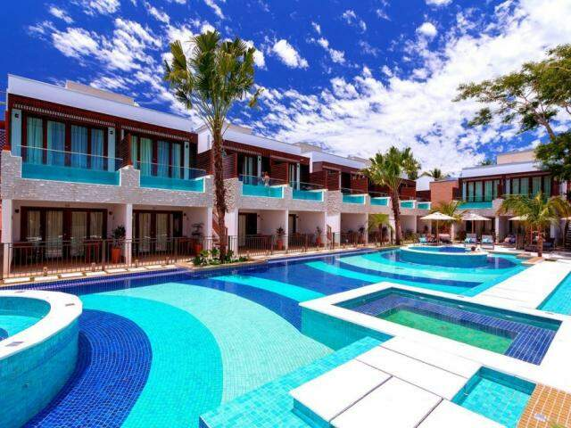 Sacadas agora têm piscina e com vista para área de lazer da pousada. (Foto: Pousada Arte da Natureza)