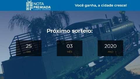 Prefeitura divulga site da Nota Premiada, mas cadastro começa só dia 3