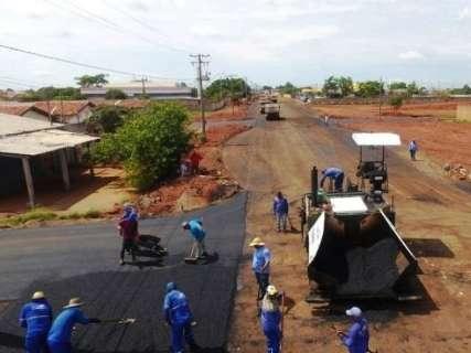 Prefeitura já aplicou 60% dos R$ 311 milhões do PAC para asfalto