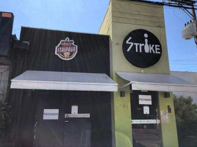 Strike fechou nessa quarta-feira, dia 4 de março. (Foto: Lucas Mamédio)