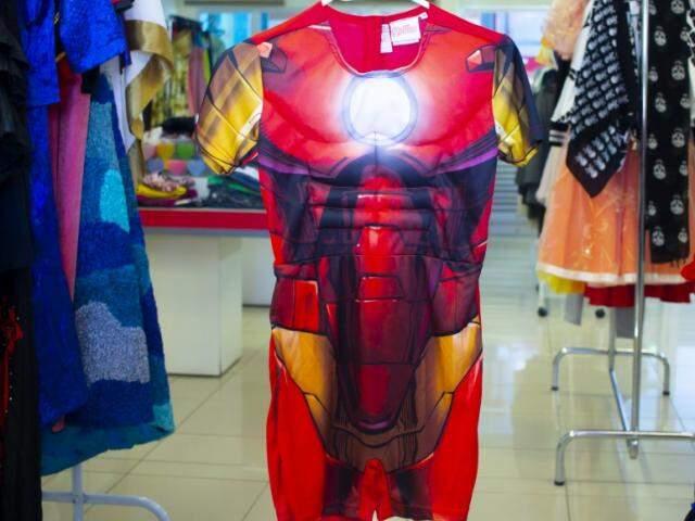 Tem a fantasia do Homem de Ferro (Foto: Divulgação)