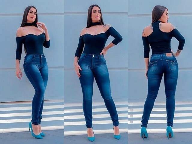 Lojas têm modelos de calças femininas que modelam o corpo. (Foto: Divulgação)