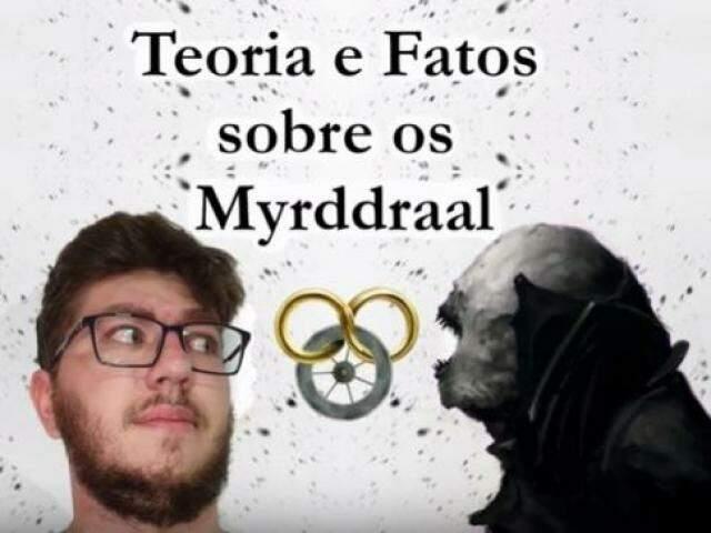 Pedro prefere falar sobre os livros de fantasia (Foto: Reprodução/YouTube)