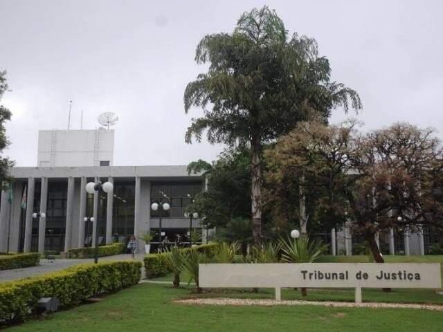 Sede do Judiciário estadual, no Parque dos Poderes (Foto: Arquivo)