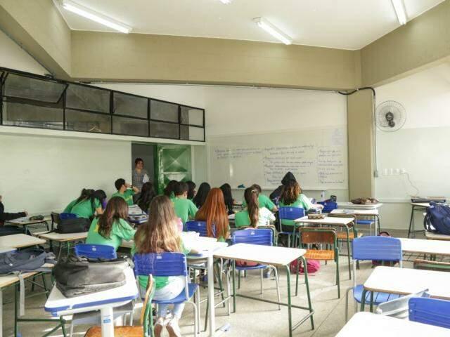 Professores serão selecionadas para atuar nas salas de aula da rede estadual de ensino (Foto: Arquivo/Kisie Ainoã)