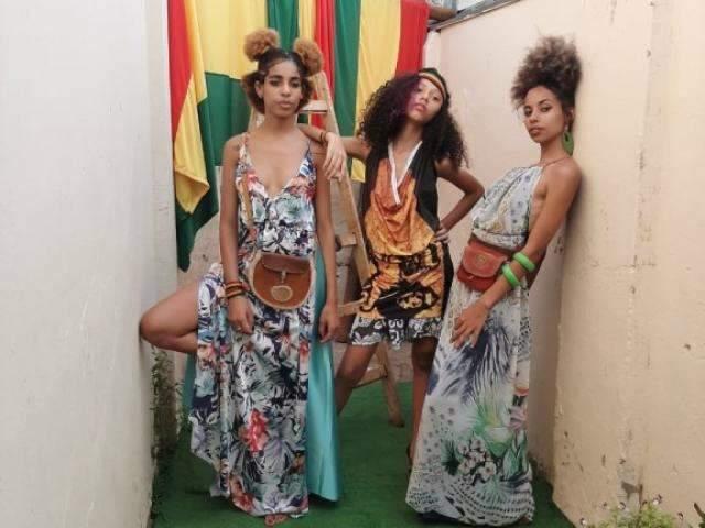 Estilista leva cultura reggae e africana para roupas com conceito upcycle