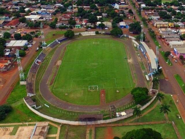 Estádio Loucão, em Maracaju, não poderá receber torcedores (Foto: Divulgação)