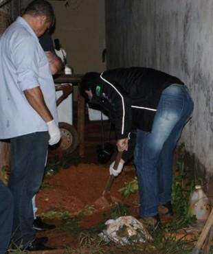 Cova onde o corpo da adolescente foi encontrado. (Foto: Chapadense News)