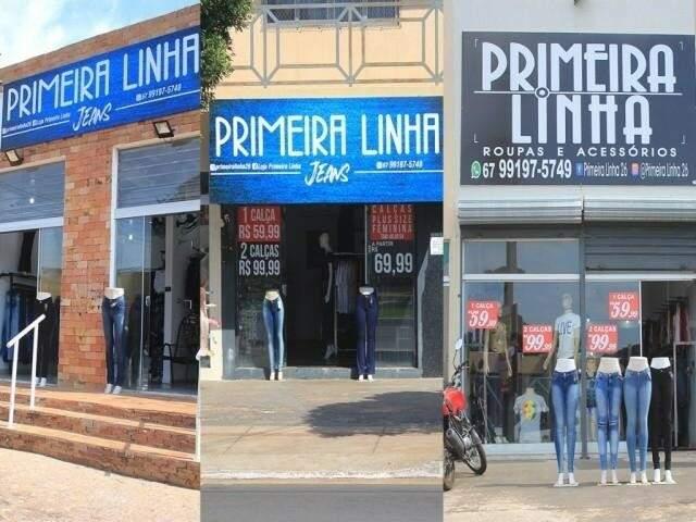 São 3 lojas da Primeira Linha Jeans em Campo Grande: Avenida Tamandaré, Filinto Müler e Júlio de Castilhos. (Foto: Divulgação)