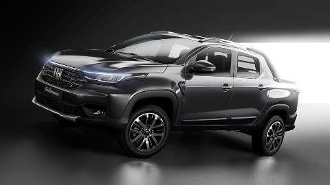 Fiat divulga a primeira imagem oficial da nova Strada