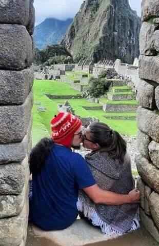 Casal estava junto há mais de cinco anos e gostava de viajar (Foto: Arquivo pessoal)