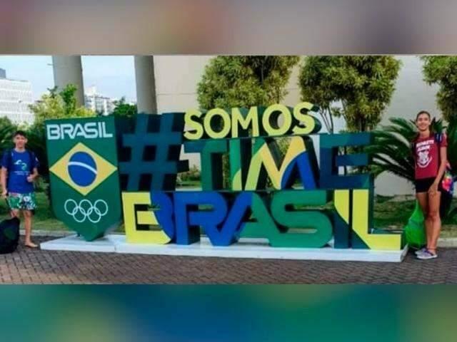 Nadadores de MS disputam seletiva no RJ em busca do sonho olímpico