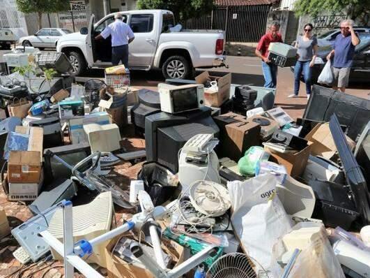 Descarte de resíduos poderá ser feita em três dias na central de atendimento. (Divulgação)
