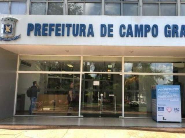 Fachada prefeitura de Campo Grande. (Foto: Divulgação)