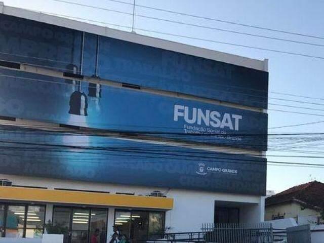 A Funsat fica na Rua 14 de Julho, nº 992 (Foto: divulgação/assessoria)