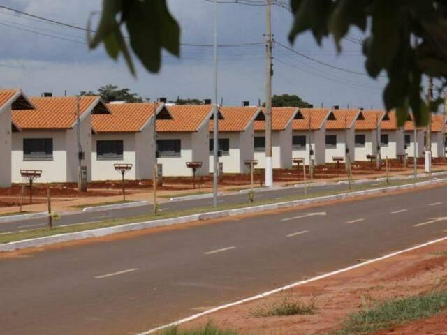 Casas populares vão beneficiar mais de 140 famílias em Ivinhema Foto: Chico Ribeiro