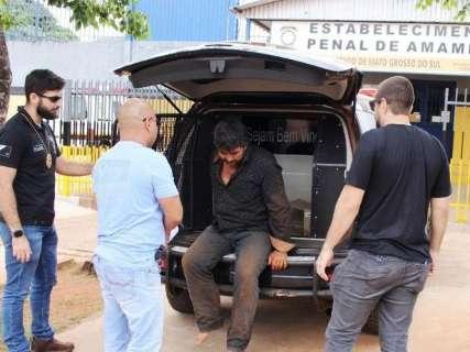 Peão é transferido para presídio sem dar detalhes sobre execução de ex-prefeito