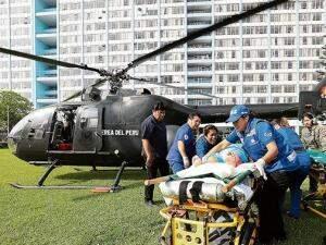 Segundo imprensa peruana, oito feridos foram transferidos para Lima (Foto: Divulgação)