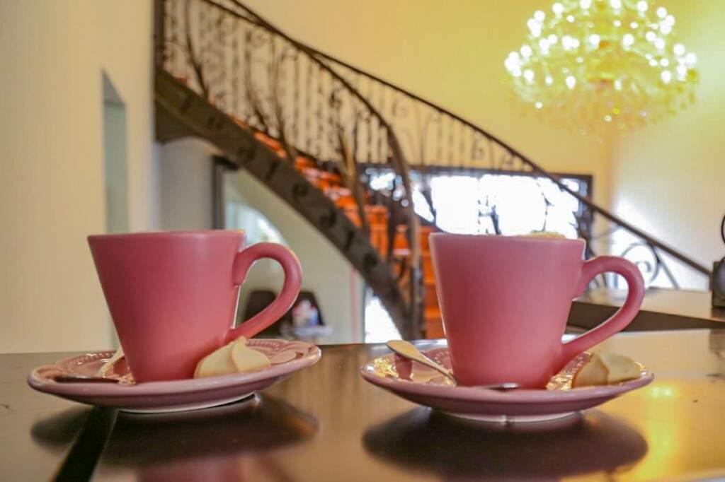 Cafés são servidos todos os dias. (Foto: Marcos Maluf)