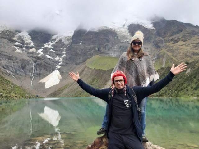 Mariana e o namorado Danilo Alencar. (Foto: Arquivo Pessoal)