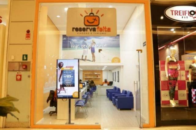 Agência também funciona no Shopping Norte Sul Plaza. Foto Kisie Ainoã