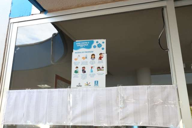 Em domingo de medo do coronavírus, concurso da UFMS tem 24% de abstenção