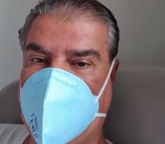 """Internado com coronavírus, Nelsinho está sem febre e com """"boa evolução"""""""