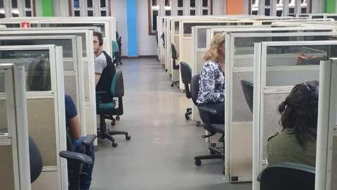 Vigilância retorna a call center da Oi, que corre risco de nova interdição