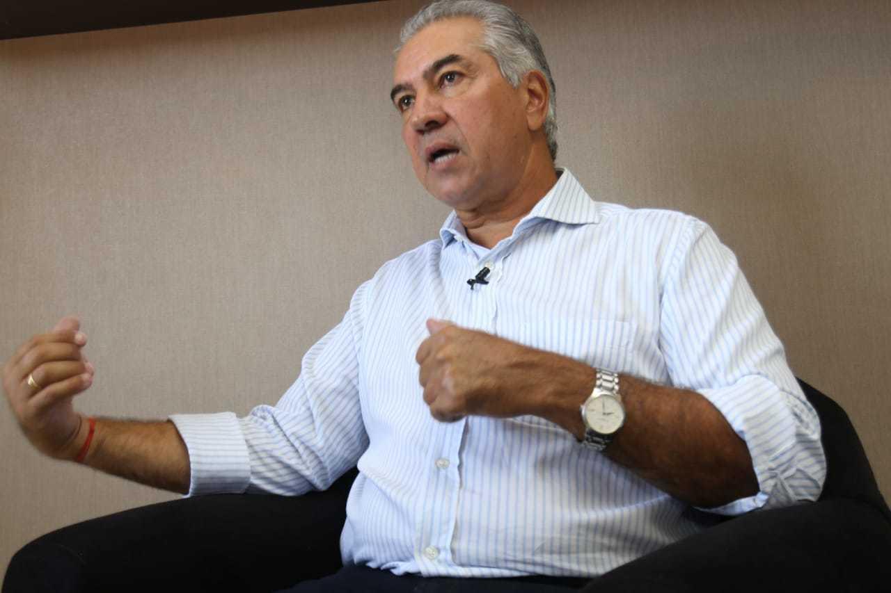Reinaldo Azambuja participa nesta terça de videconferência com o presidente Jair Bolsonaro. (Foto: Arquivo)